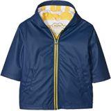 Hatley Kids Navy & Yellow Splash Jacket (Toddler/Little Kids/Big Kids)