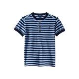 Polo Ralph Lauren Kids Striped Cotton Jersey Henley (Little Kids/Big Kids)