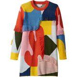 Color Block and Fringe Sweater Dress (Toddler/Little Kids/Big Kids)