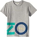 Kenzo Kids Colored Logo Tee (Toddler/Little Kids)