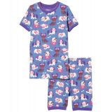 Puppy Love Organic Cotton Short PJ Set (Toddler/Little Kids/Big Kids)