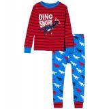T-Rex Silhouettes Applique PJ Set (Toddler/Little Kids/Big Kids)
