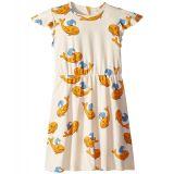 Mini rodini mini rodini Whale All Over Print Wing Dress (Infant/Toddler/Little Kids/Big Kids)