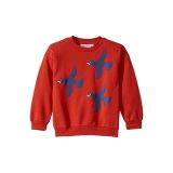Mini rodini Flying Birds Sweatshirt (Toddler/Little Kids/Big Kids)