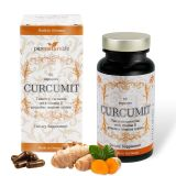 Pure Nature Life Turmeric Curcumin 1200mg 100% Natural with Ginger & Vitamin D. Anti-Inflammatory, Healthy Immune System, Pain Relief & Joint Support, Gelatin & Lactose Free, Vegan. 60 Capsules, Ma