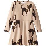Catz Long Sleeve Dress (Infant/Toddler/Little Kids/Big Kids)