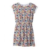 Lacoste Kids Keith Haring All Over Print Pique Dress (Toddler/Little Kids/Big Kids)
