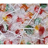 CrazyOutlet Tiger Pops, Assorted Fruit Flavor Lollipops Hard Candy Bulk, 2 Lbs