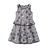 Janie and Jack Open Back Ponte Dress (Toddler/Little Kids/Big Kids)