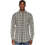Cotton Check Button Down Shirt