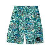 Nike Kids Shark Party 8 Volley Shorts (Little Kidsu002FBig Kids)