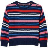 Multi Stripe Sweater (Big Kids)