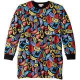 Letters and Smiles Sweatshirt Dress (Toddler/Little Kids/Big Kids)