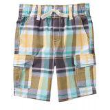 Gymboree Boys Little Plaid Woven Shorts