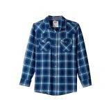 Levis Kids Barstow Plaid Woven Top (Big Kids)