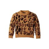 Mini rodini Leo Knitted Sweater (Little Kids/Big Kids)