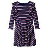 Tommy Hilfiger Kids Mock Neck Rib Dress (Big Kids)
