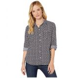 Tommy Hilfiger Roll Tab Blouse - Daisy