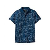 Lacoste Kids Short Sleeve All Over Print Djoko Polo (Little Kids/Big Kids)