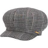 San Diego Hat Company CTH8167 Glen Plaid Baker Boy Cap