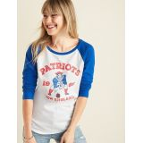 NFL® Team-Graphic 3/4-Sleeve Tee for Women