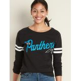 NFL® Team-Graphic Sleeve-Stripe Sweatshirt for Women