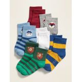 Crew Socks 6-Pack for Toddler Boys & Baby