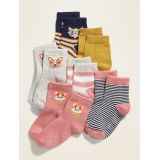Crew Socks 6-Pack for Toddler Girls & Baby