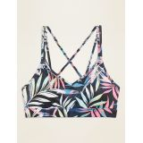 Light Support Strappy Sports Bra for Women