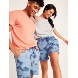 Oldnavy Vintage Tie-Dyed Gender-Neutral Jogger Sweat Shorts for Adults -- 7.5-inch inseam