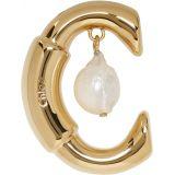 Gold Darcey Pearl Earring