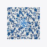 Blue Branches Silk Neckerchief