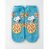AEO Snoopy Pizza Ankle Sock