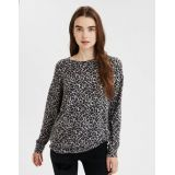 AE Soft Plush Leopard Crew Neck Sweatshirt
