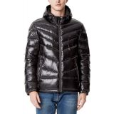 Tommy Hilfiger Mens Chevron-Quilted Water-Resistant Hooded Puffer Jacket, Created for Macys