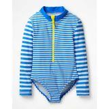 Stripy Long-Sleeved Swimsuit