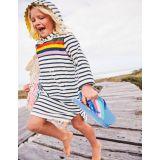 Stripy Towelling Beach Dress