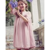 Sparkly Ruffle Chiffon Dress