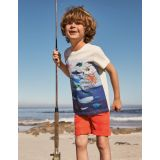 Boden Graphic Layers T-shirt - Ivory Under-the-sea