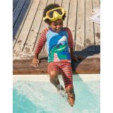 Boden Surf Suit - Firecracker Red Surfing Croc