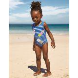 Boden Fun Applique Swimsuit - Elizabethan Blue Ice Creams