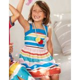 Boden Mini-me Stripe Dress - Multi Stripe