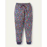 Boden Warrior Knee Sweatpants - Starboard Autumn Berry Floral