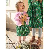 Boden Cord Dress 3 Piece Set - Sardinia Green Fairy Garden
