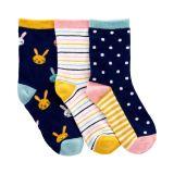 3-Pack Bunny Socks