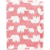 Elephant Fuzzy Plush Blanket