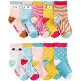10-Pack Animal Socks