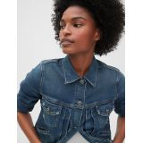 Crop Icon Selvedge Denim Jacket
