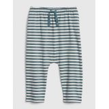 Baby Organic Cotton Stripe Pull-On Pants