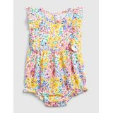 Baby Floral Bubble One-Piece